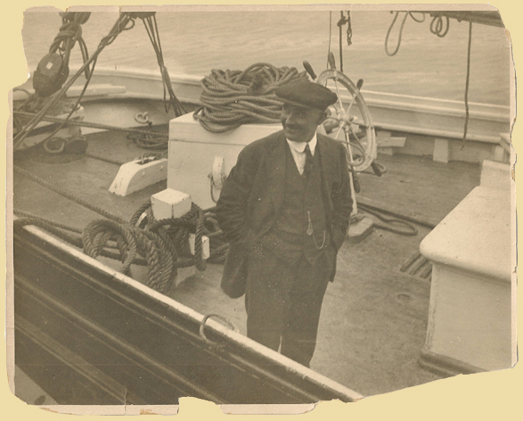 Capt. Marty Walsh of the Schooner Elsie