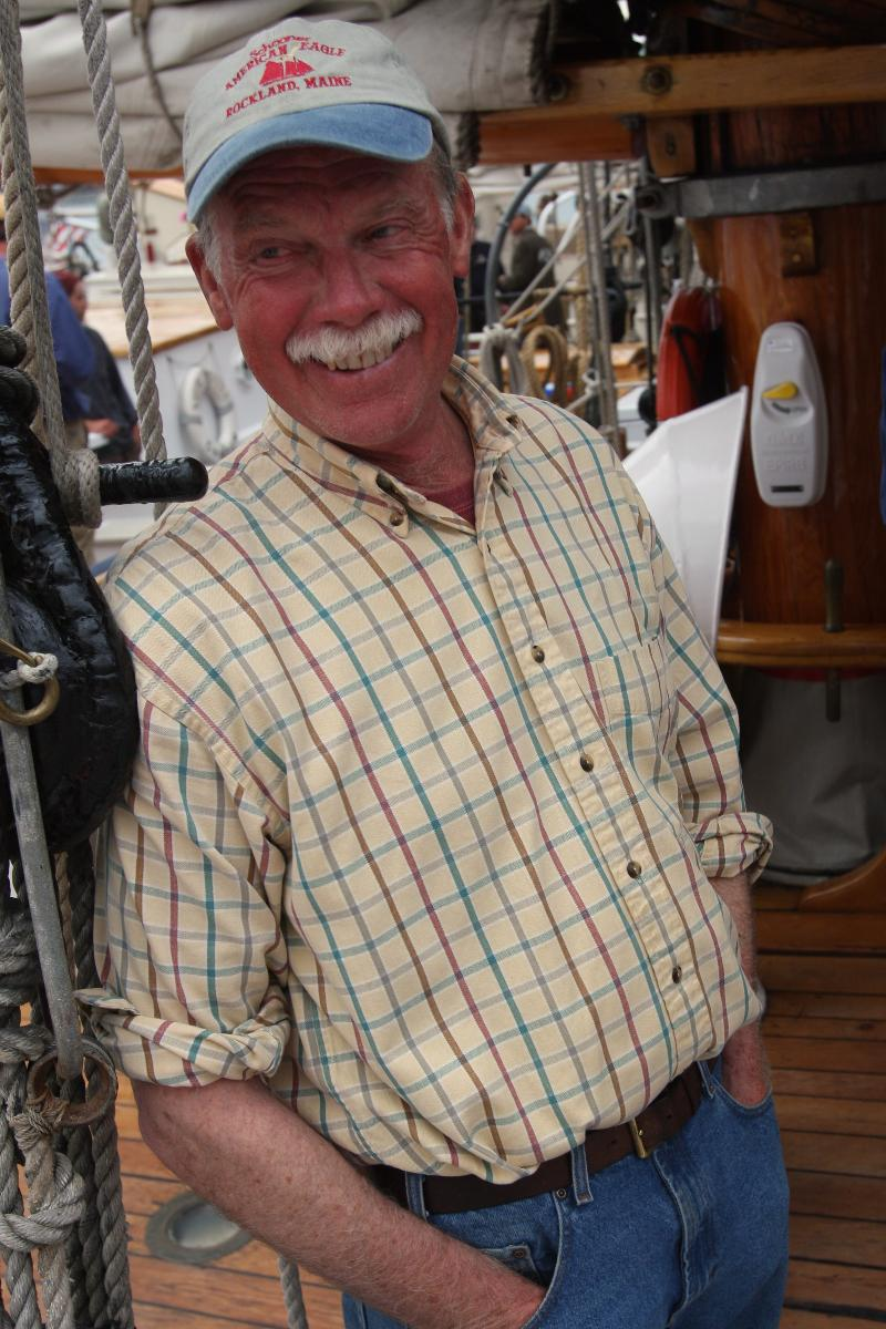 Capt John having a good laugh