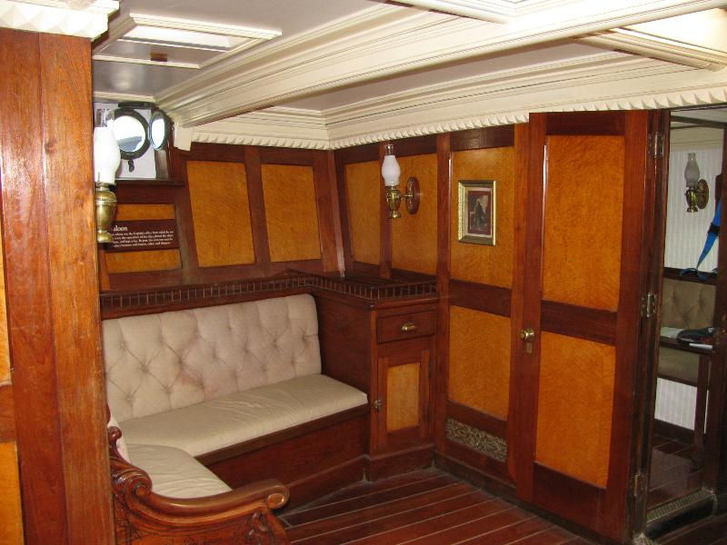 Barque Elissa Main Cabin