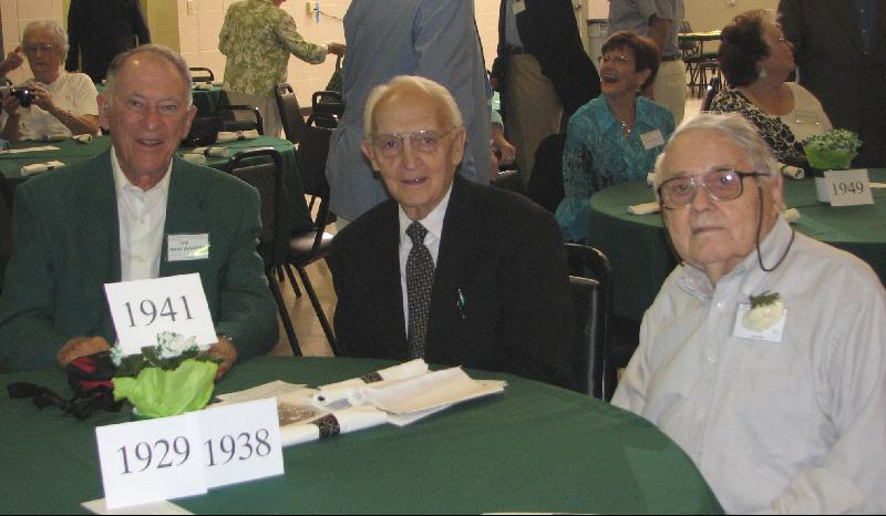 Class of 1929,  1938, 1941 - July 25, 2009 Reunion