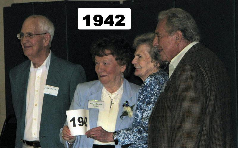 Class of 1942, July 25, 2009 Reunion