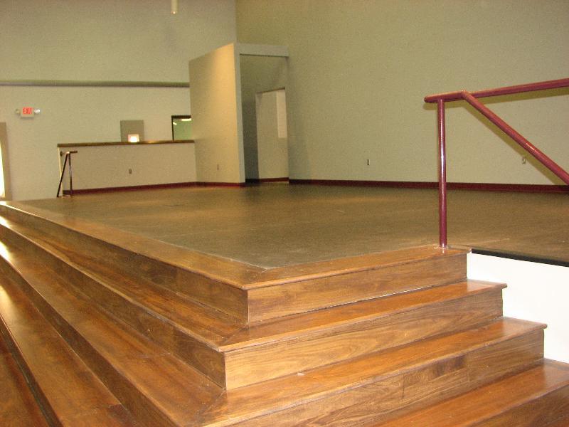 JHS Auditorium Stage left front steps