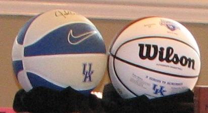 2012 UK Campionship & Autographed balls