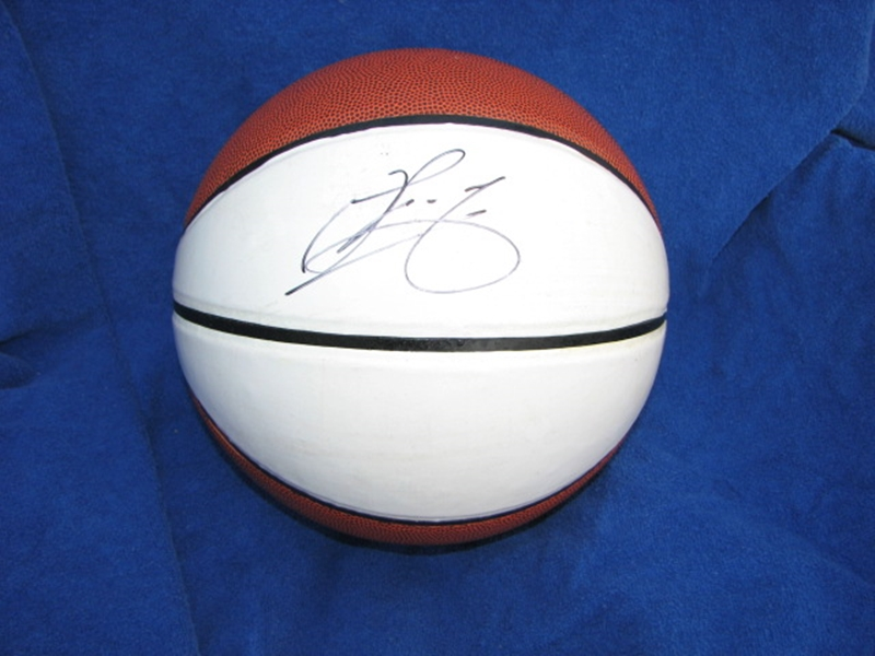 UofL Basketball autographed by U of L Center Gorgui Dieng IMG_2442b