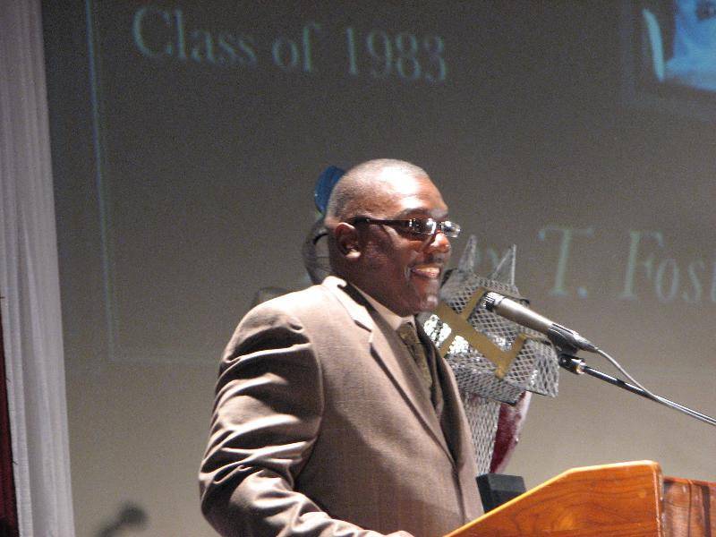 JHS Hall of Fame Inductee - Rodney T. Foster