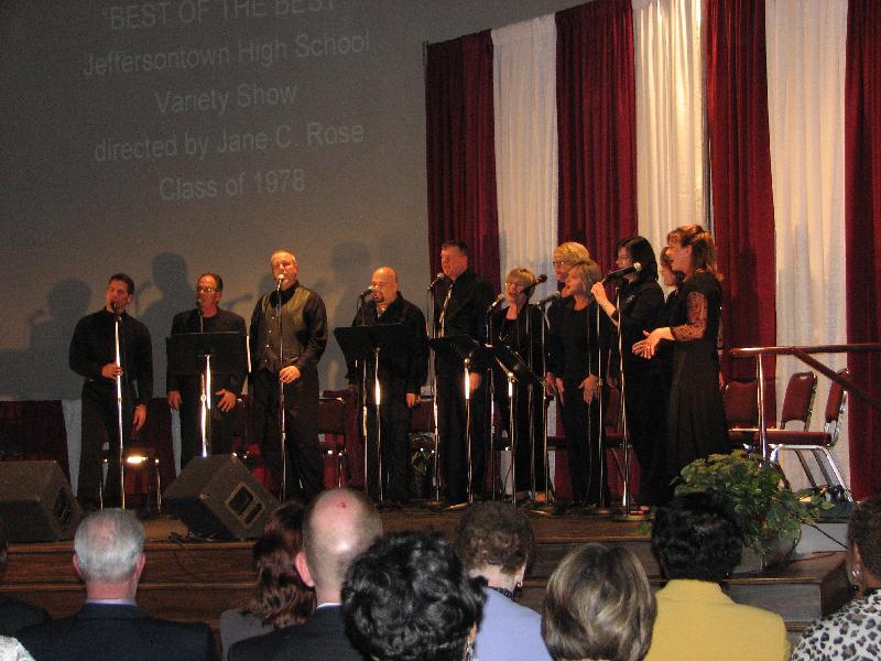 JHS Alumni Choral Ensemble's Performance
