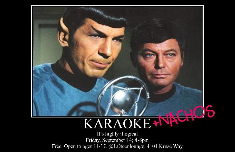 Karaoke & Nachos