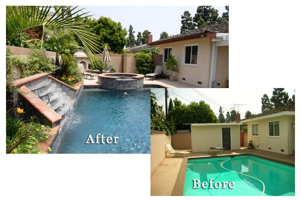 Backyard With Pool Remodel : As our families grow up and our lives and the use of our outdoor