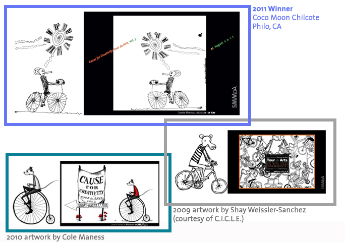 Bike Critter Art Contest Examples 2009-2011
