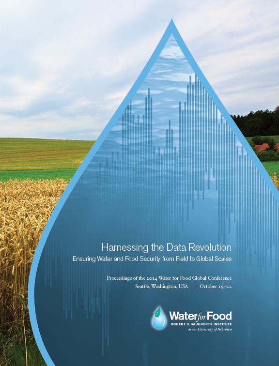Water for Food Conference Proceedings Cover