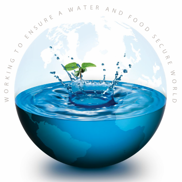 Working to Ensure a Water and Food Secure World Globe