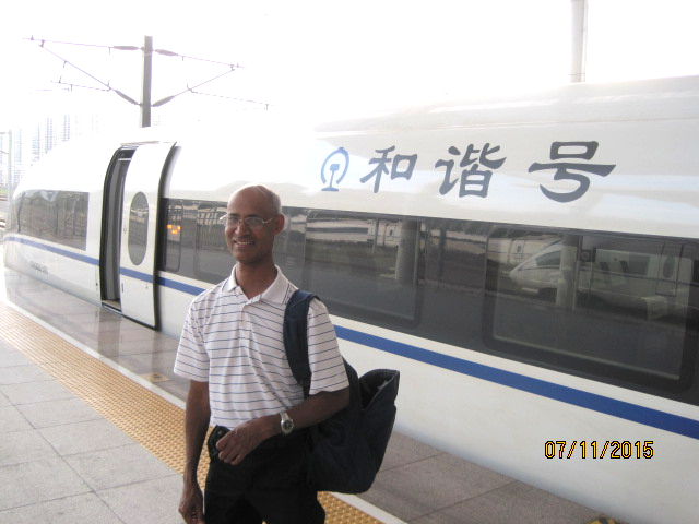 Dr. Ray in China July 2015
