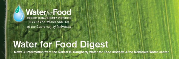 Water for Food Digest Header 1-6-15