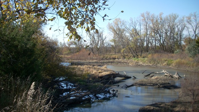 Republican River east of Harlan_ Neb.