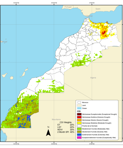 Morocco Composite Drought Index