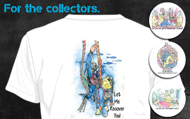 T-shirts for the Real Diver