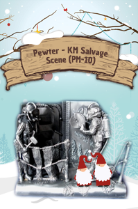 Pewter - KM Salvage Scene (PM-10)