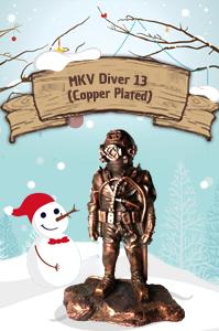 MKV Diver 13 (BM-09) Copper Plated