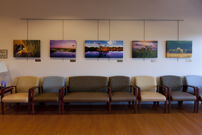 Perper Waiting Areas at the Lynn Cancer Institute