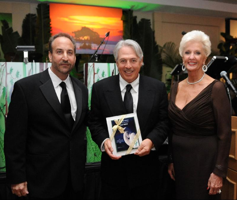 Alan Maltz receives the Vision Award
