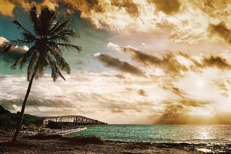 """""""Bahia Honda Sunrise"""" by Alan S. Maltz"""