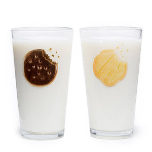 Milk & Cookie Glasses