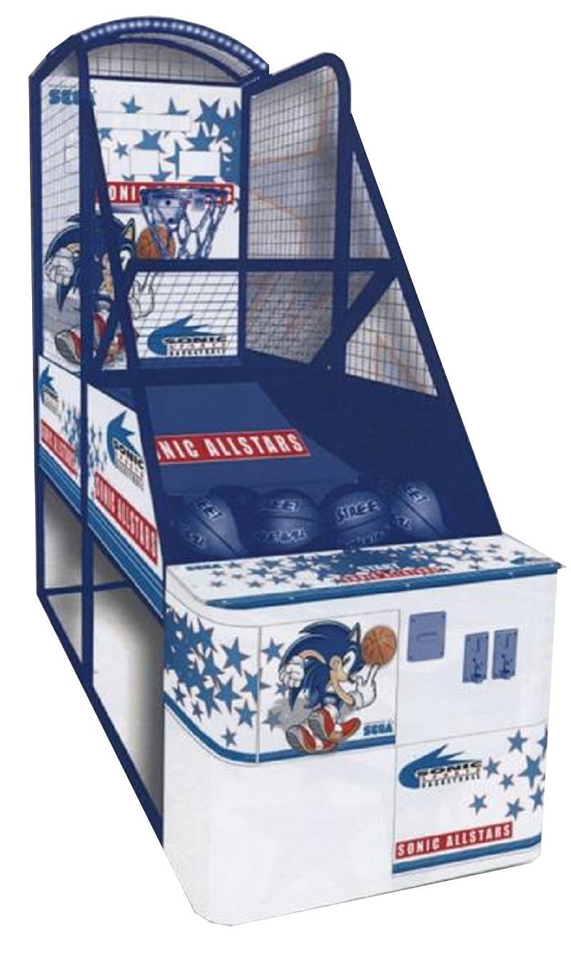 Sonic Basketball Game