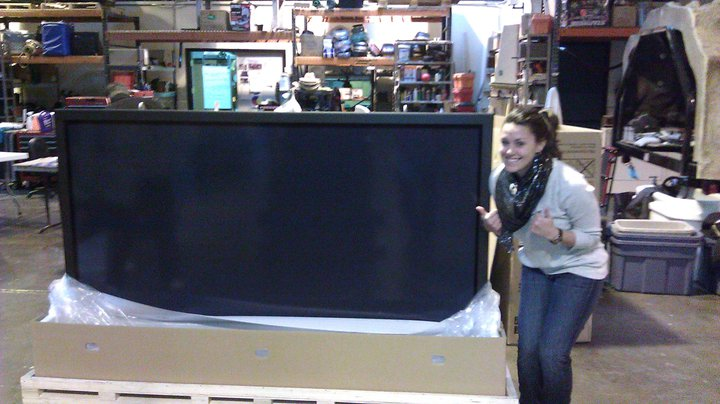 New 85 inch TV