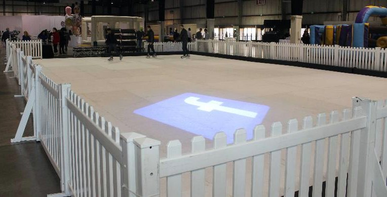 Facebook Ice Rink