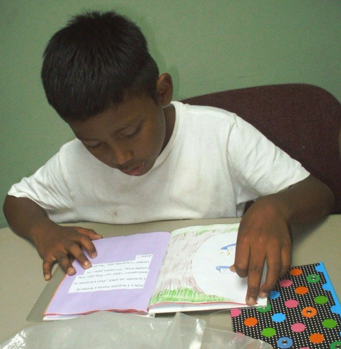 reading at the managua office