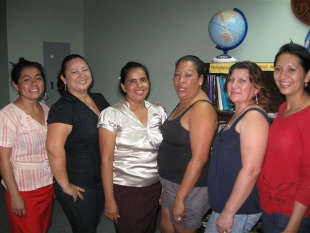 2012 Chica Nica Learning Center Committee