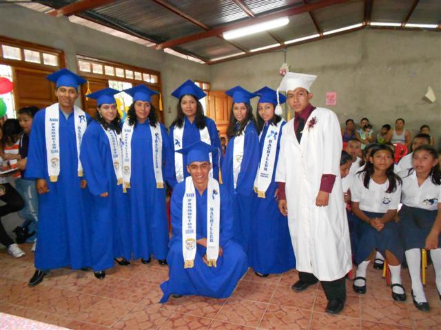 Las Lagunas Graduation