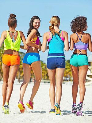Four Skinny gals!