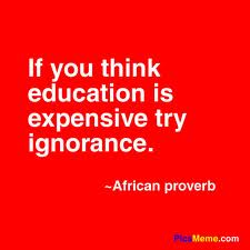 Ignorance IS Expensive