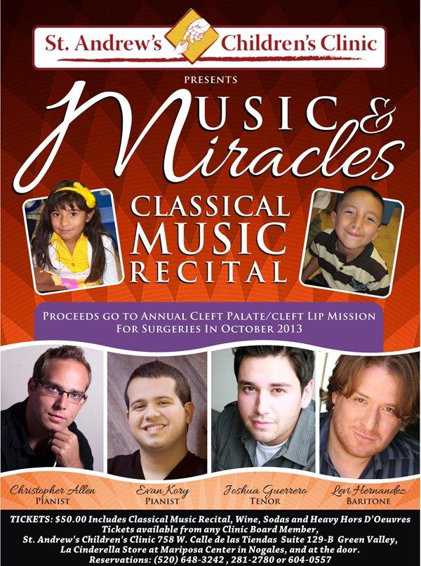 St Andrews Summer Concert Poster