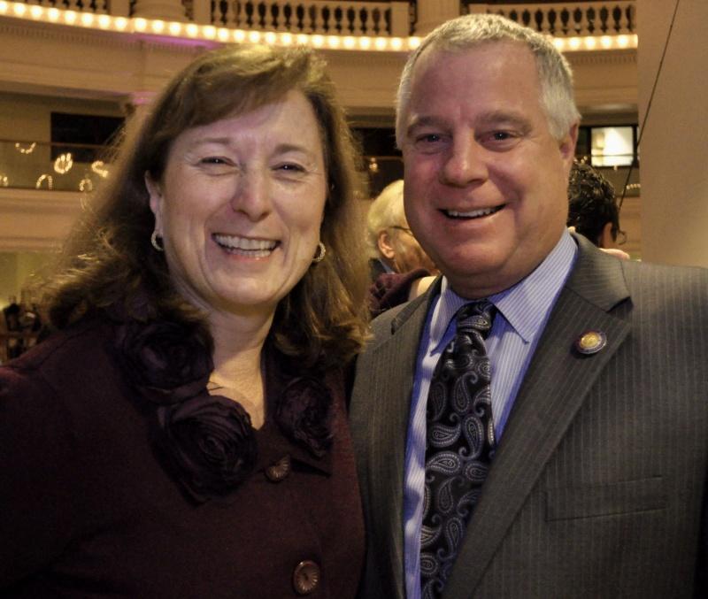Senator Ellen Corbett and Supervisor Scott Haggerty