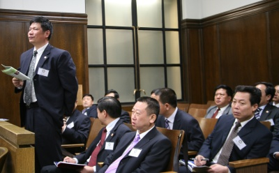 Delegation of Prosecutors from China