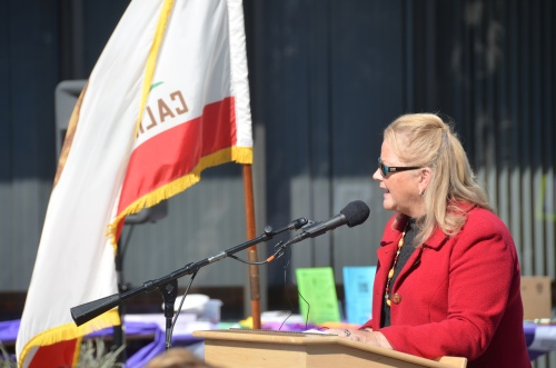 DA Nancy O'Malley speaks at the 9th Day of Remembrance