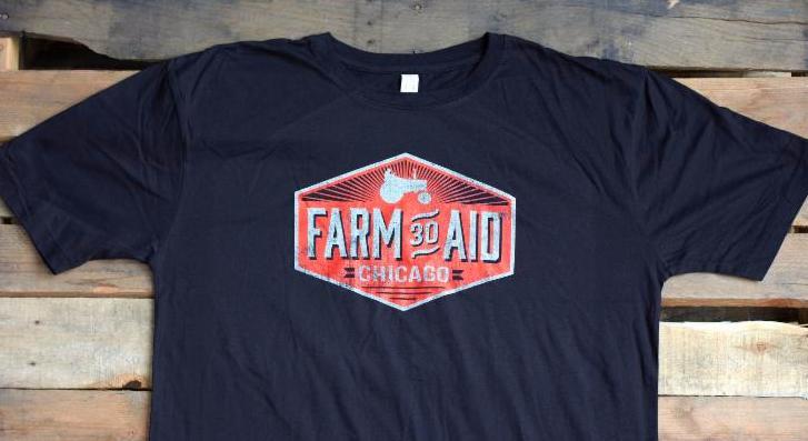 Farm Aid 30 shirt