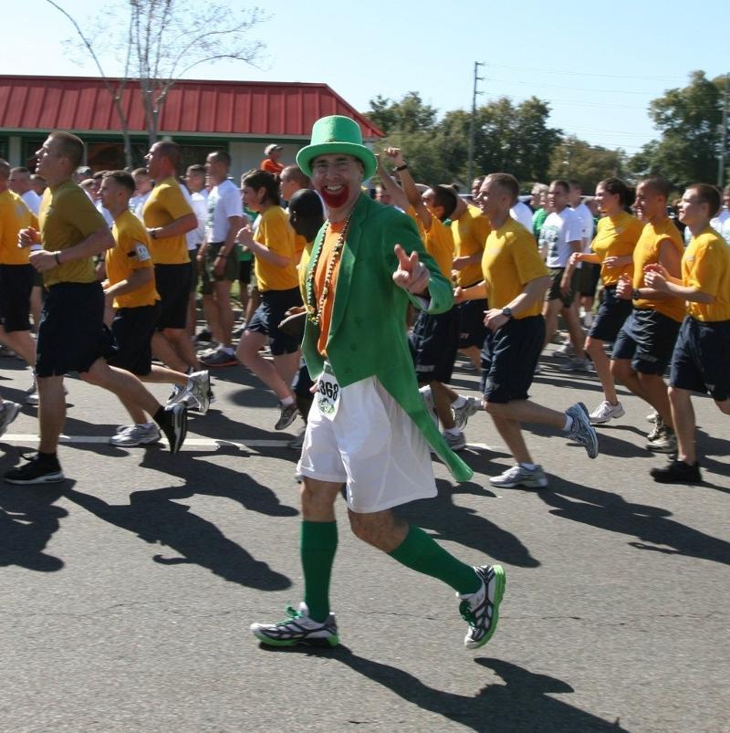 Leprechaun Walking