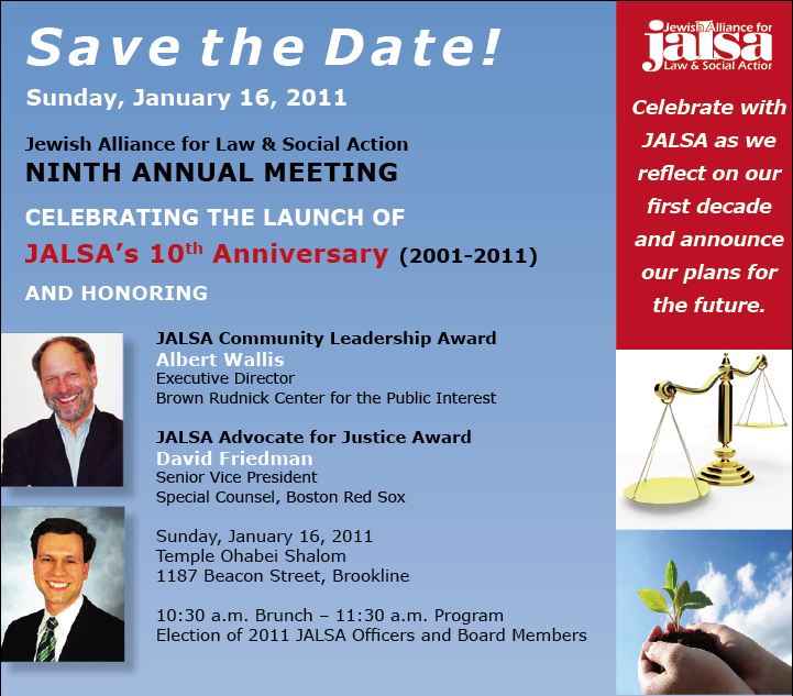 Save the Date - Annual Meeting 1