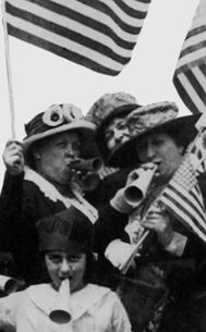 SUFFRAGETTES  IN THE SILENT CINEMA