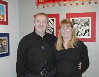 Sheila Jonah and John Drajewicz