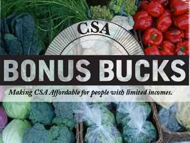 CSA Bonus Bucks