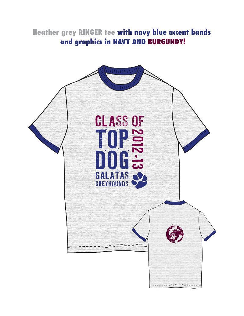 Top Dog T with Color Description