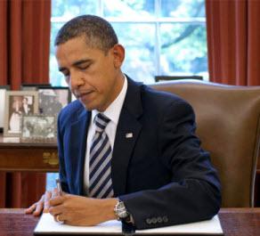 Obama signs edict
