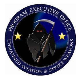 Navy drone logo