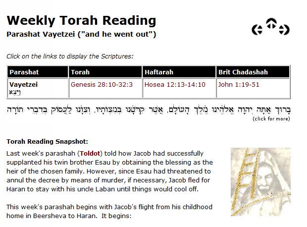 Torah portion_Vayetze