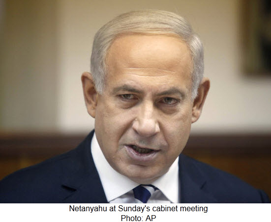 Netanyahu at Cabinet meeting_12.2.12