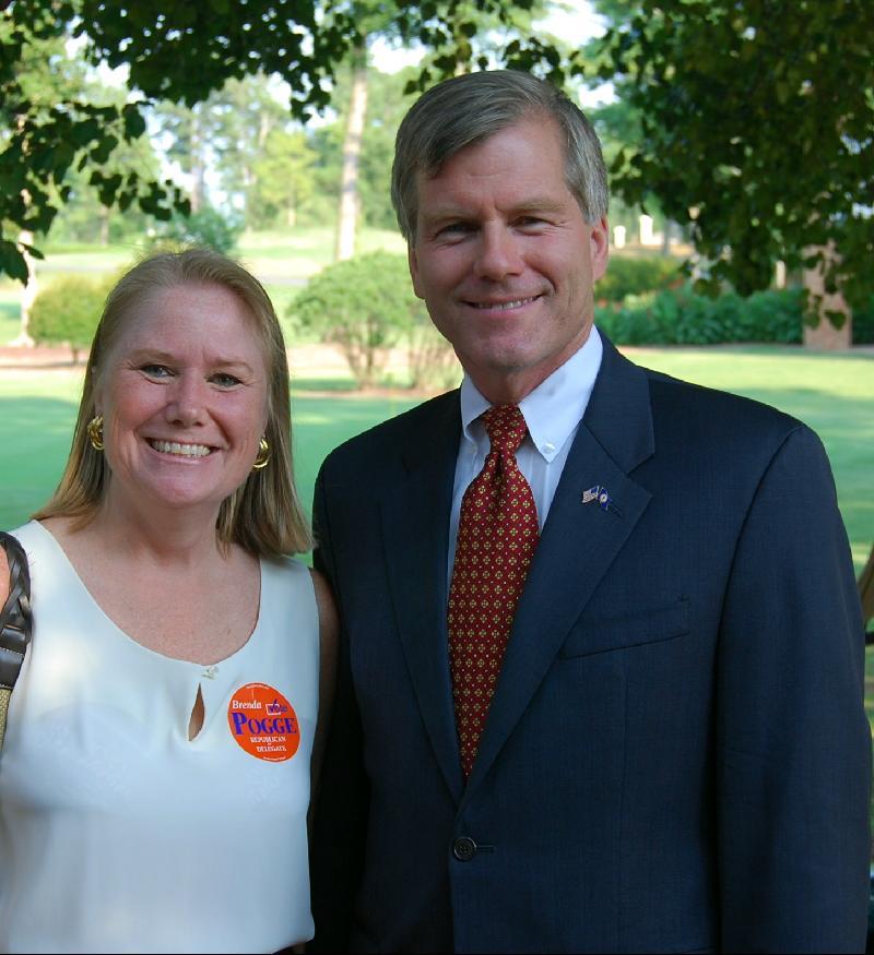Brenda w/Governor McDonnell